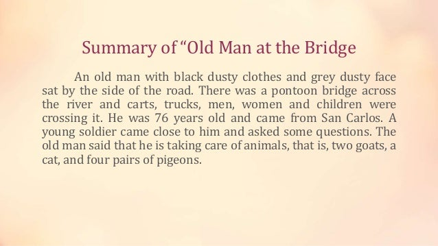 the old man summary