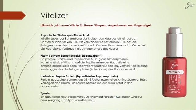 """Vitalizer Ultra-rich """"all-in-one""""-Elixier für Haare, Wimpern, Augenbrauen und Fingernägel Japanische Wollmispel-Blattextra..."""