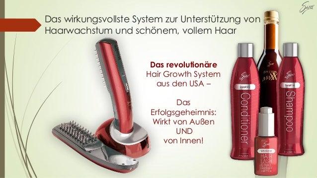 Das wirkungsvollste System zur Unterstützung von Haarwachstum und schönem, vollem Haar Das revolutionäre Hair Growth Syste...