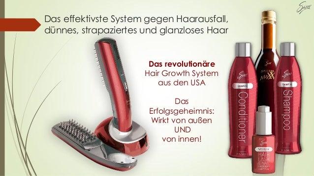 Das effektivste System gegen Haarausfall, dünnes, strapaziertes und glanzloses Haar Das revolutionäre Hair Growth System a...