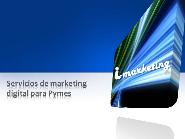 Servicios de marketingdigital para Pymes