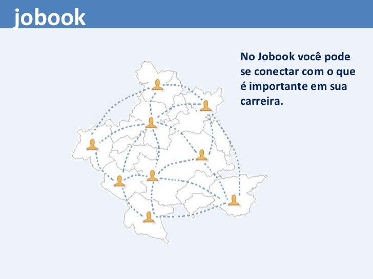 No Jobook você pode se conectar com o que é importante em sua carreira. jobook