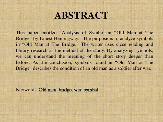 a literary analysis of the short stories by ernest hemingway Search for the writer and short story (eg ernest hemingway and big two-hearted river) (do not select a field index)  literary journals, and short stories.