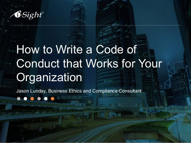 Employee Code of Conduct