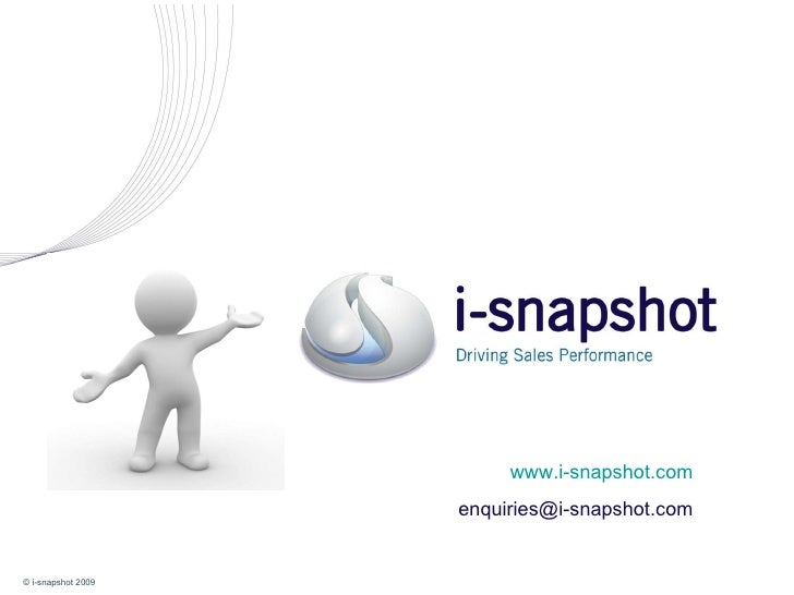 What is i-snapshot, and how can it help us?