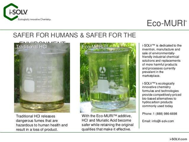 Eco Muri A Breakthrough Hcl Additive