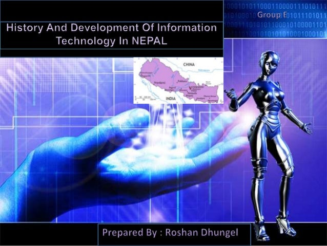 I t history and development in nepal