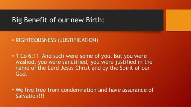 Rom 8:1 There is therefore now no condemnation for those who are in Christ Jesus. Rom 8:38 For I am sure that neither deat...