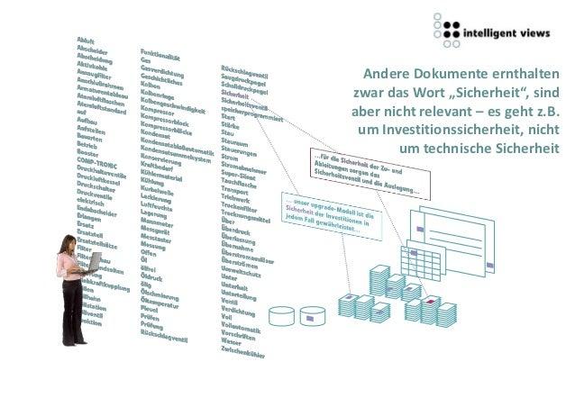 """Andere Dokumente ernthaltenzwar das Wort """"Sicherheit"""", sindaber nicht relevant – es geht z.B. um Investitionssicherheit, n..."""