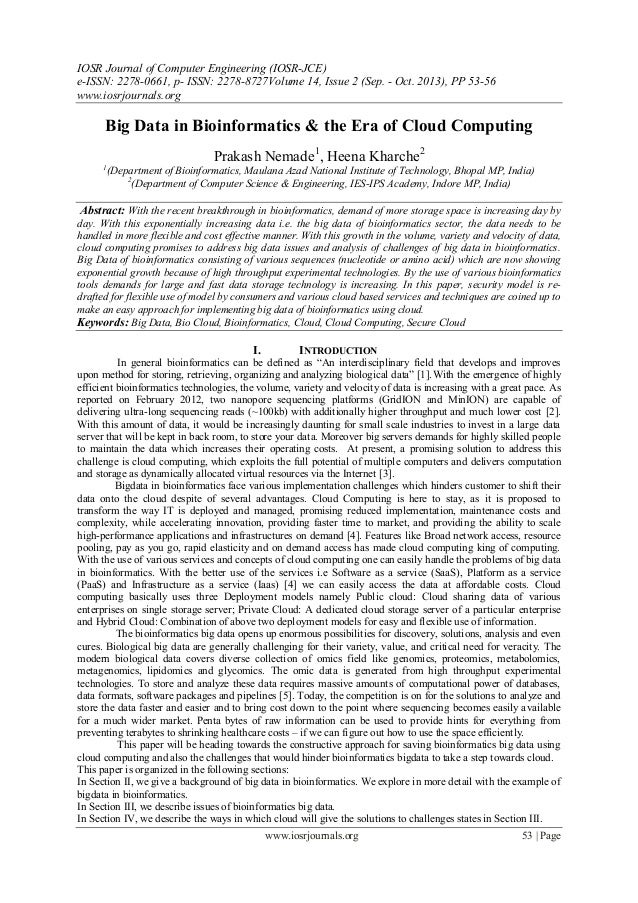 IOSR Journal of Computer Engineering (IOSR-JCE) e-ISSN: 2278-0661, p- ISSN: 2278-8727Volume 14, Issue 2 (Sep. - Oct. 2013)...