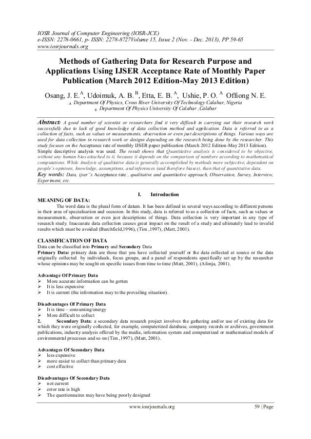 example of methodology in research paper