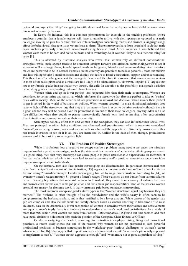 gender and mass media Representation of gender and sexuality in of the violation of rights and abuse of representatives of sexual minorities along with their under-representation in mass media as a result, gender relations and perception of gender in the modern society does not admit the homosexuality as a.
