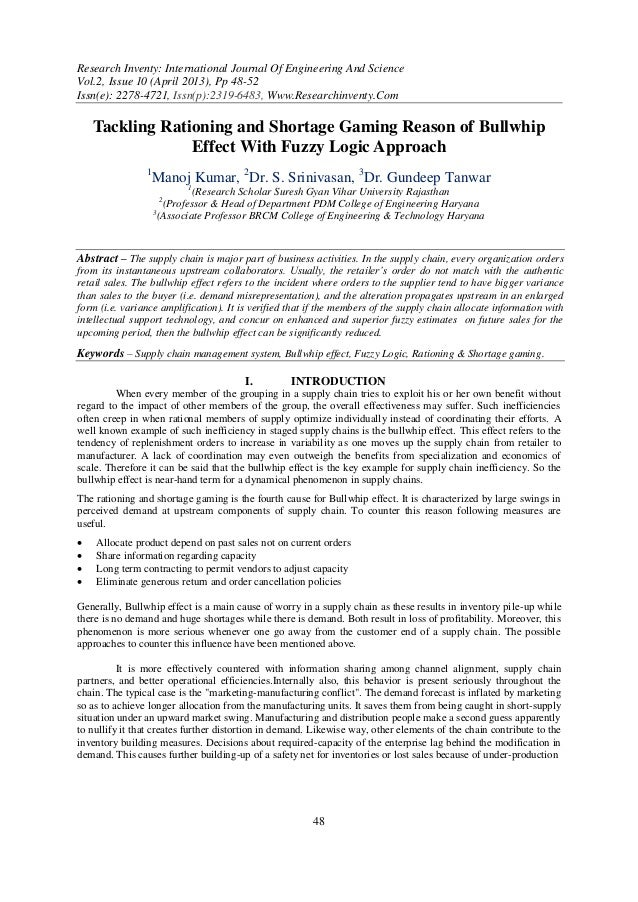 Research Inventy: International Journal Of Engineering And ScienceVol.2, Issue 10 (April 2013), Pp 48-52Issn(e): 2278-4721...