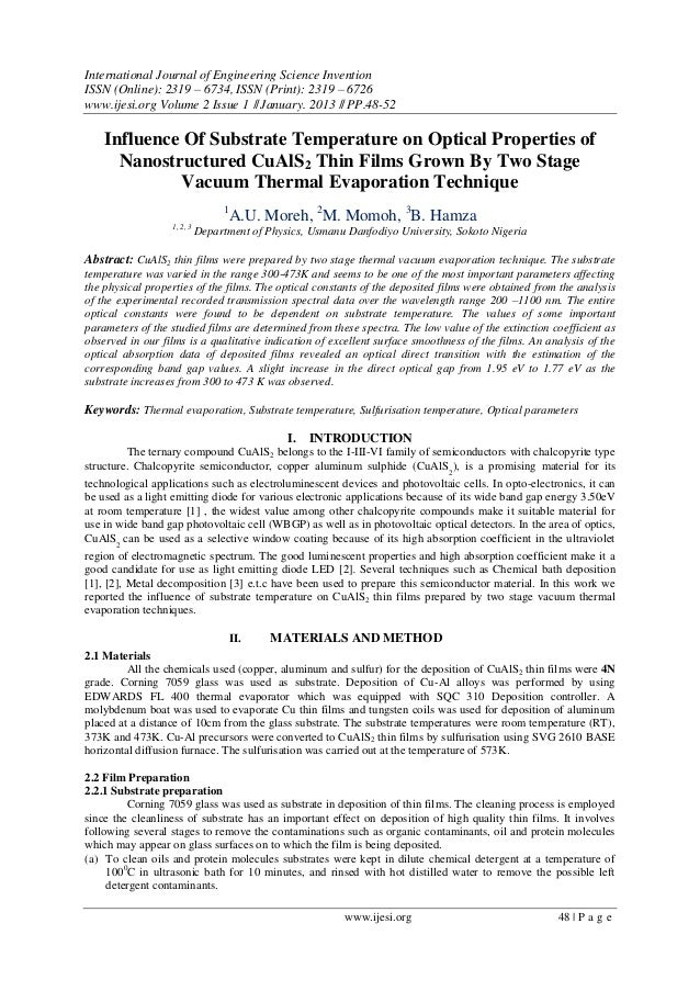 International Journal of Engineering Science Invention ISSN (Online): 2319 – 6734, ISSN (Print): 2319 – 6726 www.ijesi.org...