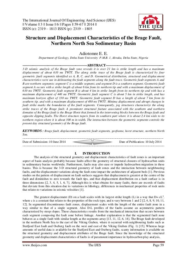 The International Journal Of Engineering And Science (IJES) || Volume || 3 || Issue || 6 || Pages || 59-67 || 2014 || ISSN...