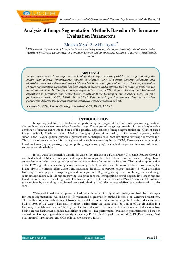 International Journal of Computational Engineering Research||Vol, 04||Issue, 3|| ||Issn 2250-3005 || || March || 2014 || P...