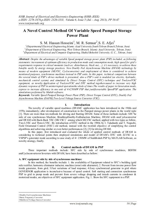 IOSR Journal of Electrical and Electronics Engineering (IOSR-JEEE) e-ISSN: 2278-1676,p-ISSN: 2320-3331, Volume 6, Issue 5 ...