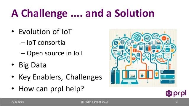 prpl: a non-profit foundation embracing IoT diversity, big data, and analytics Slide 3