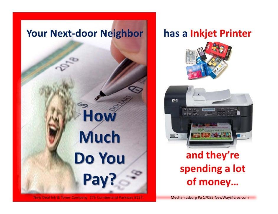 YourNext‐doorNeighborhasaInkjetPrinter                                                                       ...