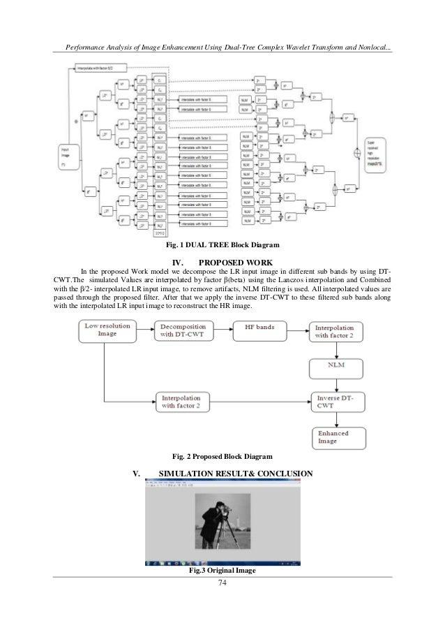 Performance Analysis of Image Enhancement Using Dual-Tree