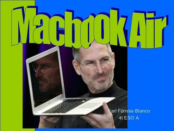 Karl Fürniss Blanco 4t ESO A Macbook Air