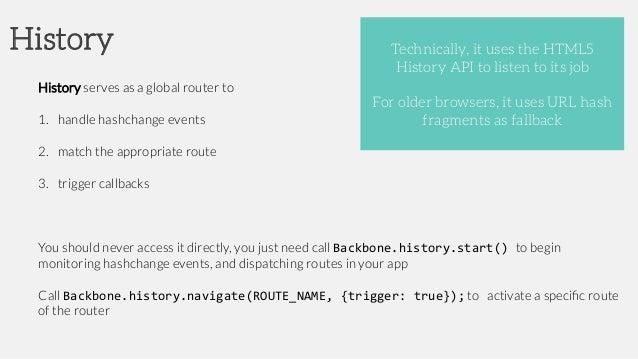 Backbone JS for mobile apps