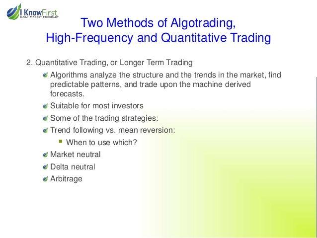 Algorithmic trading and quantitative strategies nyu