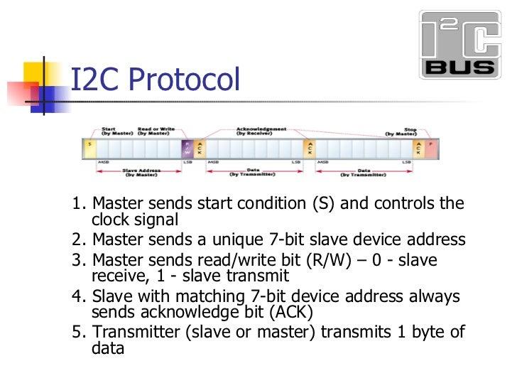 Using the I2C Bus