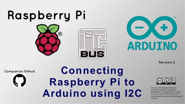 I2c interfacing raspberry pi to arduino