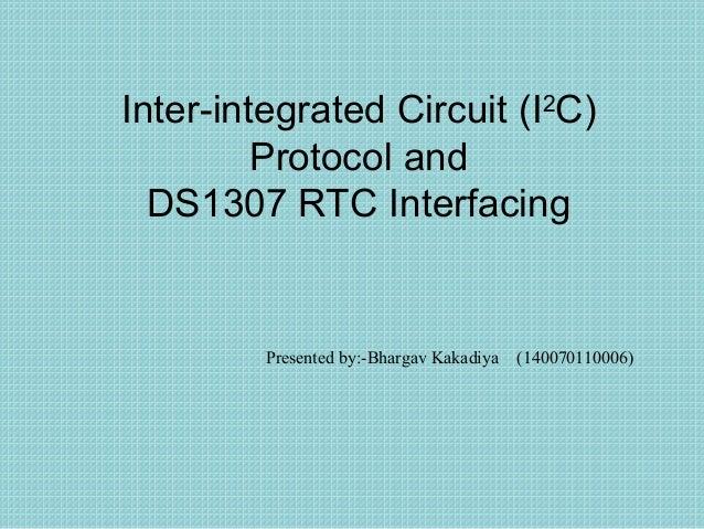 I2C protocol and DS1307 RTC interfacing