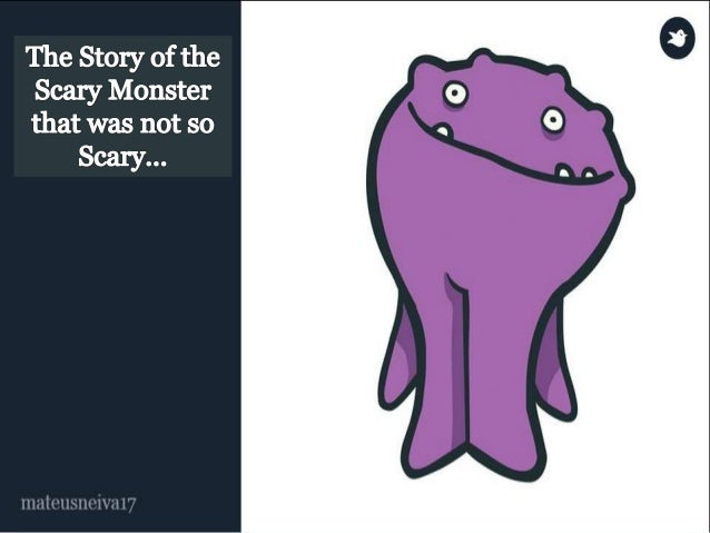 Adam was a little, funny and a  happy monster. His dream was  to become big and scary, so he  could be a successfull monst...