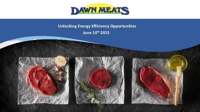 Unlocking Energy Efficiency Opportunities June 10th 2015