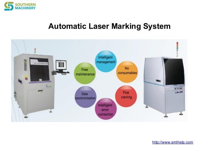 http://www.smthelp.com Automatic Laser Marking System