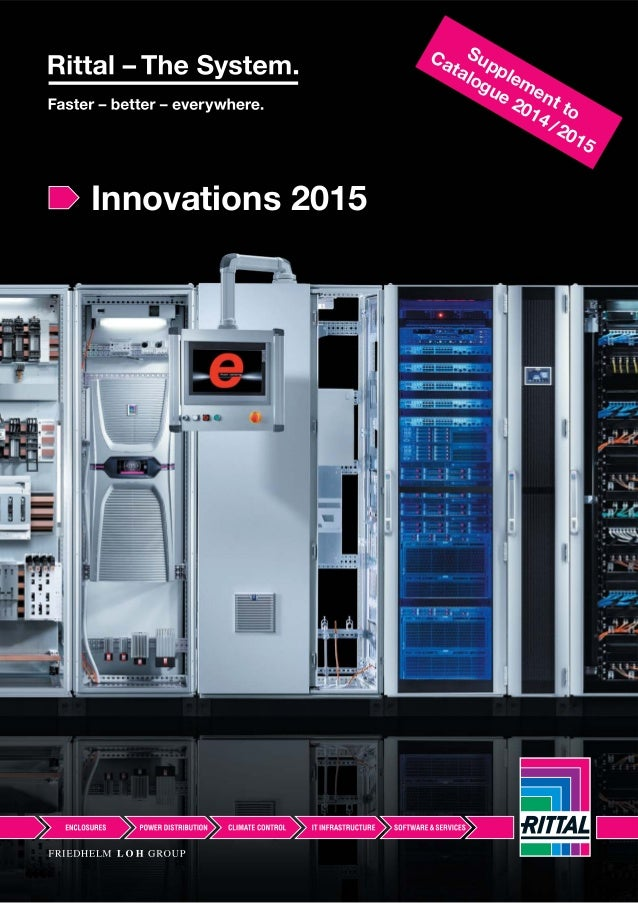 Innovations 2015 Supplement to Catalogue 2014/2015