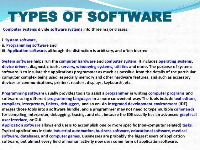 what is application software