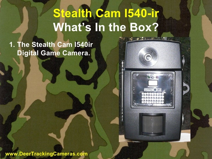 stealthcam i540ir review rh slideshare net