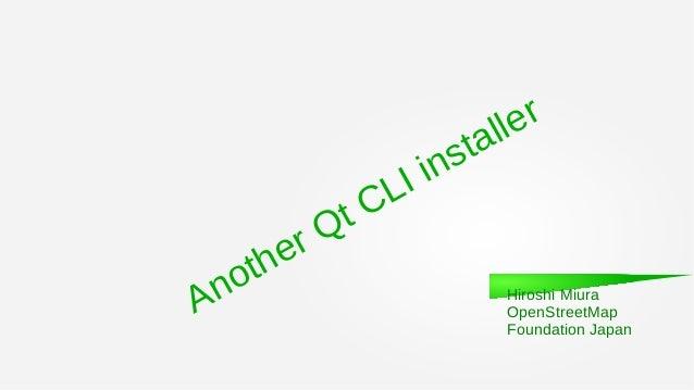 Aqt install for Qt勉強会@ Tokyo R #2 2019年6月