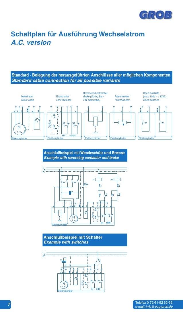 Wartungs- und Bedienungsanleitung Elektrozylinder de/en