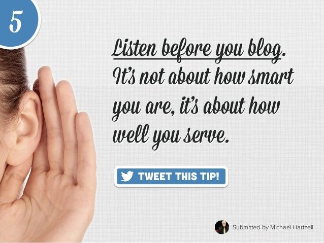20 Quick Tips to Make Blogging Way Easier Slide 11
