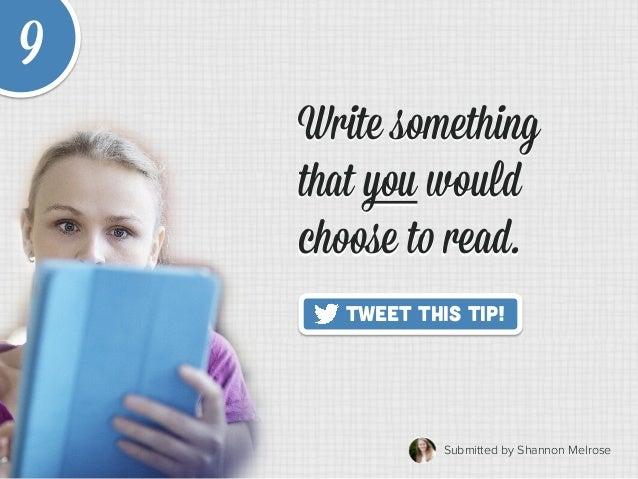20 Quick Tips to Make Blogging Way Easier Slide 15