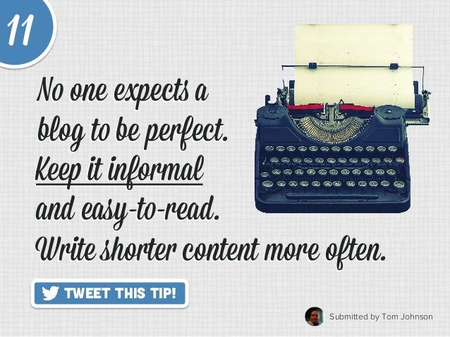 20 Quick Tips to Make Blogging Way Easier Slide 17