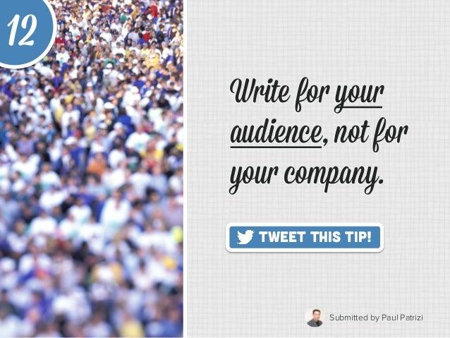 20 Quick Tips to Make Blogging Way Easier Slide 18