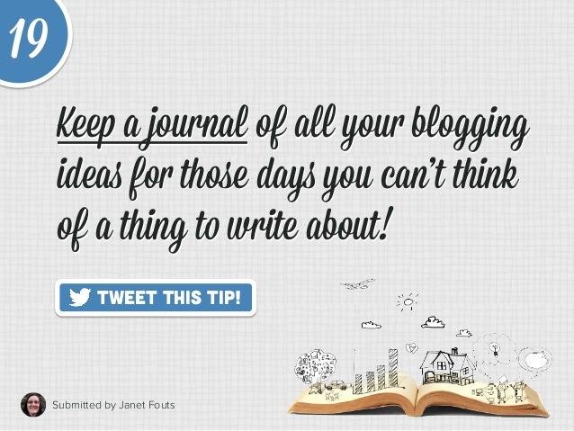20 Quick Tips to Make Blogging Way Easier Slide 25