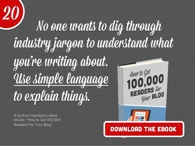 20 Quick Tips to Make Blogging Way Easier Slide 26