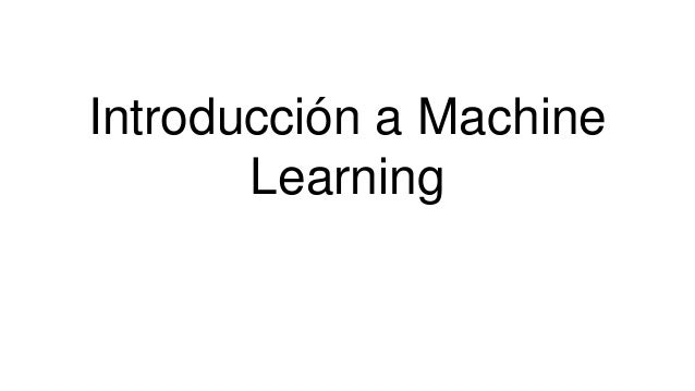 machine learning c