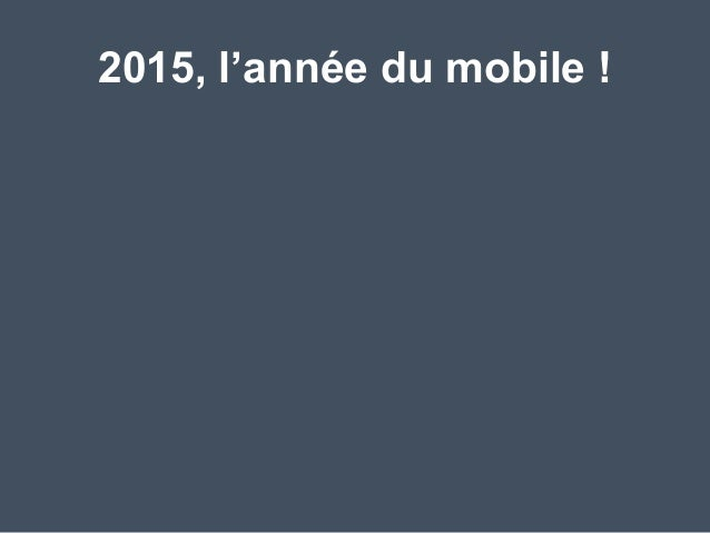 Révolution Mobile & Marketing   au #SocialDrinkUp Slide 2