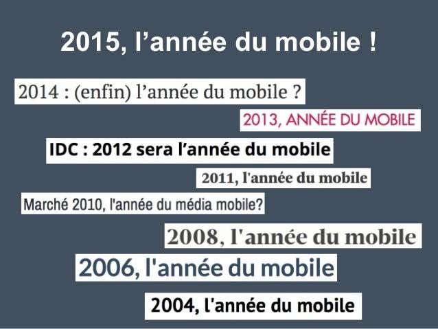Révolution Mobile & Marketing   au #SocialDrinkUp Slide 3