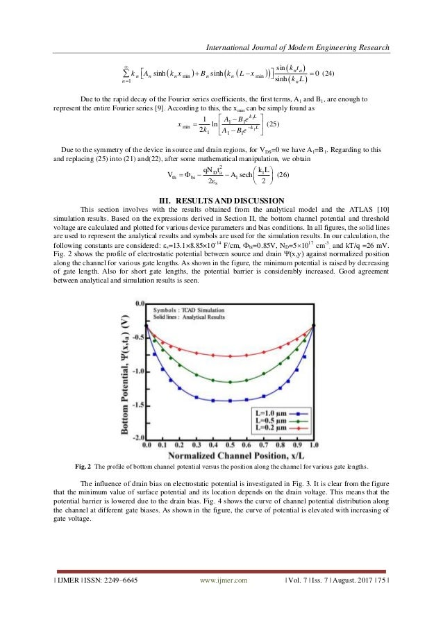 A New Two Dimensional Analytical Model Of Small Geometry Gaas Mesfet