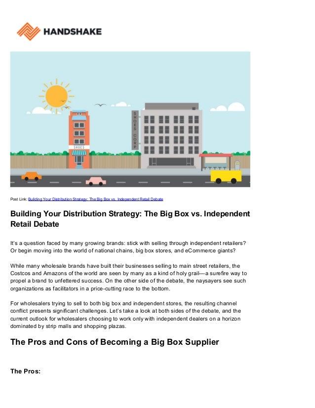 Big Box Distribution