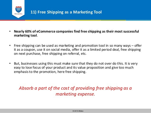i95Dev - 12 Ways to Offer Free Shipping to your eCommerce